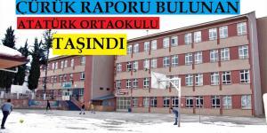 Pazaryeri'nde Atatürk Ortaokulu Taşındı