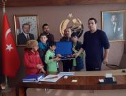 Pazaryeri'nde Özel Eğitim Gereksinimli Çocuklar'dan Kaymakam'a Ziyaret