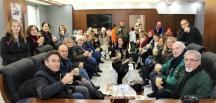 Üsküdar HEM Fotoğrafçılık Kursiyerlerinden Başkan Tekin'e Ziyaret