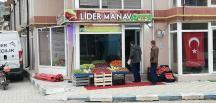 Pazaryeri'nde Yeni Manav Dükkanı Hizmete Girdi