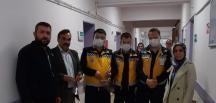 Pazaryeri Mesleki Teknik Anadolu Lisesi 3 D ile maske üretti