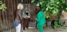 Belediye Başkanı Tekin Şehit, Gazi ve Yaşlı aileleri Bayramda unutmadı