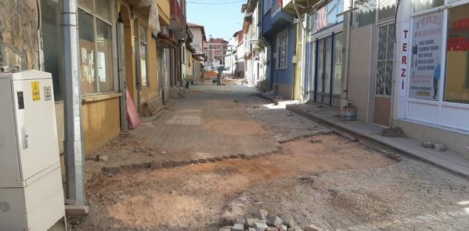 Pazaryeri Belediyesi Üst Yapı Çalışmalarına başladı.