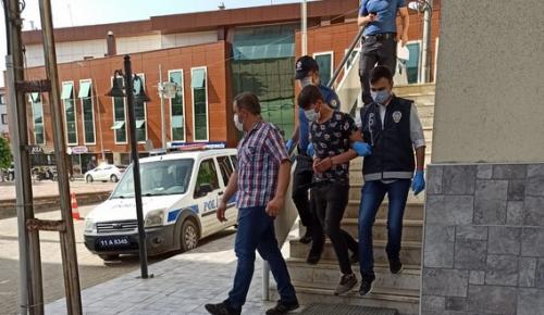 Pazaryeri İlçesinde Hırsızlık Şüphelisi Tutuklandı