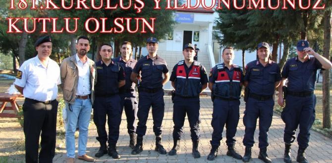 Jandarma 181 yıldır vatan nöbetinde