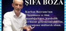 ŞİFA BOZA ABDULLAH MERCAN'IN BAYRAM KUTLAMASI