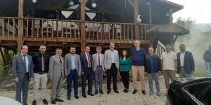 Rektörlerden Pazaryeri Belediyesine Ziyaret