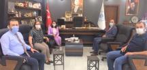 Rektör Beydemir' den Başkan Tekin'e ziyaret