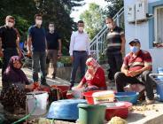 İl Müdürü YOLDAŞ' dan Genç Çiftçilere Ziyaret…
