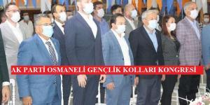 AK Parti Osmaneli İlçe Gençlik Kolları 6. Kongresi yapıldı