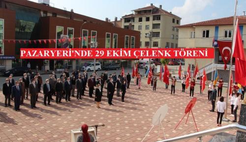 Pazaryeri'nde 29 Ekim Cumhuriyet Bayramı kutlamaları