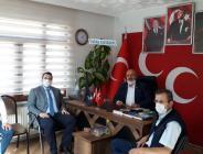 Pazaryeri Kaymakamı Çırak'tan Filizli'ye Hayırlı Olsun Ziyareti