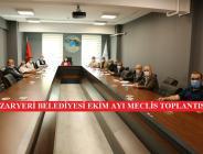 Pazaryeri Belediyesi Ekim Ayı Meclis Toplantısı