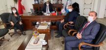 Başkan Tekin, İl Milli Eğitim Müdürü Çelik'i Ziyaret etti