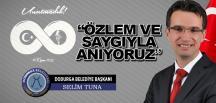 Dodurga Belediye Başkanı Selim Tuna'nın 10 Kasım Atatürk'ü Anma Mesajı