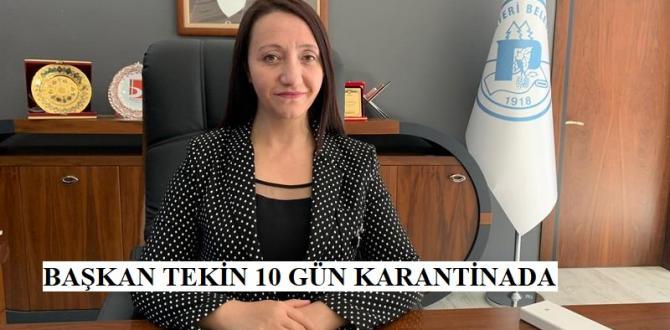 Pazaryeri Belediye Başkanı Tekin, Koronovirüs'e yakalandı