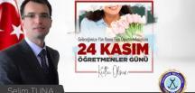 Dodurga Belediye Başkanı Selim Tuna'nın Öğretmenler Günü Mesajı