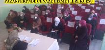 Pazaryeri'nde HEM Cenaze Hizmetleri Kursu Sona Erdi