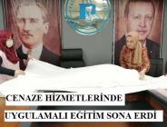 Pazaryeri Belediyesi Cenaze Hizmetleri Kursu