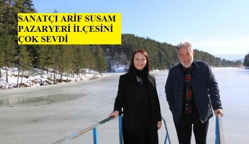 Sanatçı Arif Susam'dan Başkan Tekin'e Sürpriz Ziyaret