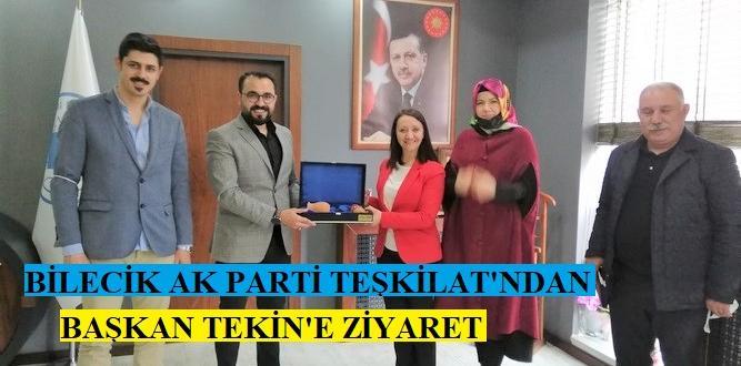 Ak Parti İl Teşkilat Başkanı Yılmaz ve ekibinden Pazaryeri Ziyareti