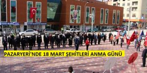 Pazaryeri İlçesinde 18 Mart Çanakkale Deniz Zaferi Töreni