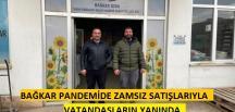 BAĞKAR PANDEMİDE ZAMSIZ SATIŞLARIYLA VATANDAŞLARIN YANINDA