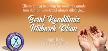 Dodurga Belediye Başkanı Selim Tuna'nın Berat Kandili Kutlama Mesajı