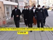 BOZÜYÜK'TENORMALLEŞME DÖNEMİNİN İLK DENETİMİ YAPILDI