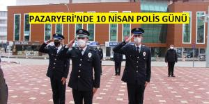 Pazaryeri İlçesinde Polis Günü Kutlaması