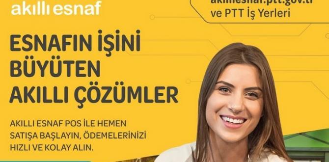 PTT'DEN ESNAF VE GİRİŞİMCİLERİN İŞİNİ BÜYÜTEN AKILLI ÇÖZÜMLER