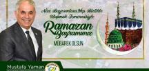 Bayırköy Belediye Başkanı Mustafa Yaman Ramazan Bayramı Mesajı