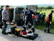 Yine Aynı Kavşak Yine Kaza 6 yaralı
