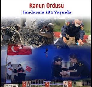 Mazisi şan ve şerefle dolu Jandarma Genel Komutanlığı 182 yaşında