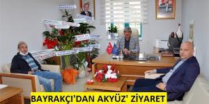 Bayrakçı'dan, Gençlik Müdürü Akyüz'e ziyaret