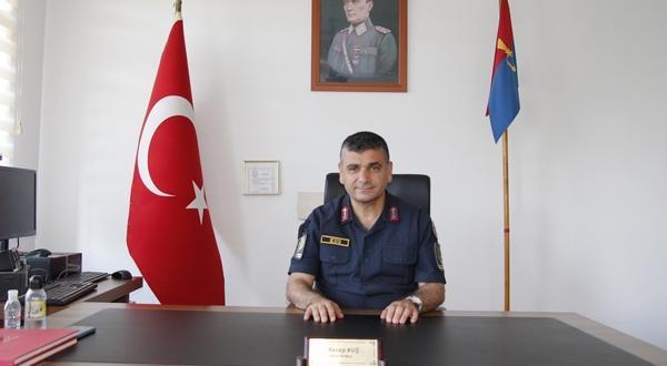 Pazaryeri İlçe Jandarma Komutanı Kuş, Görevine Başladı