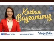 Pazaryeri Belediye Başkanı Zekiye Tekin'in Kurban Bayramı Mesajı