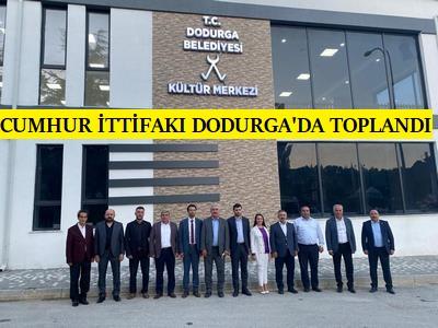 BİLECİK CUMHUR İTTİFAKI DODURGA'DA TOPLANDI