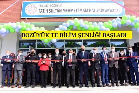 """""""BOZÜYÜK BİLİM ŞENLİĞİ"""" BAŞLADI"""