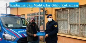 Jandarma'dan Muhtarlar Günü Kutlaması
